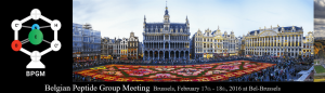 "3rd Belgian Peptide Group Meeting @ The Conference Centre ""BEL"" 