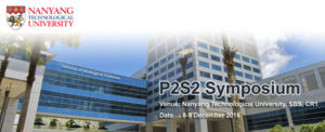 2nd Peptides and Proteins Society of Singapore Symposium (P2S2 2016) @ Nanyang Technological University, School of Biological Science | Singapore | Singapore
