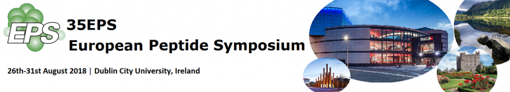 35th European Peptide Symposium, 35EPS @ The Helix Conference Centre, Dublin City University (DCU) | County Dublin | Ireland