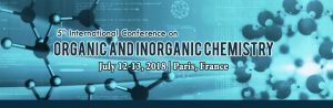 5th International Conference on Organic and Inorganic Chemistry @ Paris | Île-de-France | France